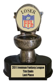 Pile Of Last Place Trophy